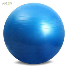 New 65cm Health Fitness Yoga Ball 5 Color Utility Anti-slip Pilates Balance Yoga Balls Sport Fitball Proof for Gym Fitness