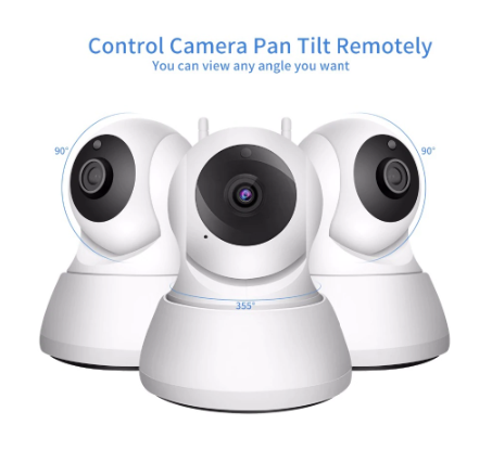 Wireless Wi-Fi Home Security Camera System