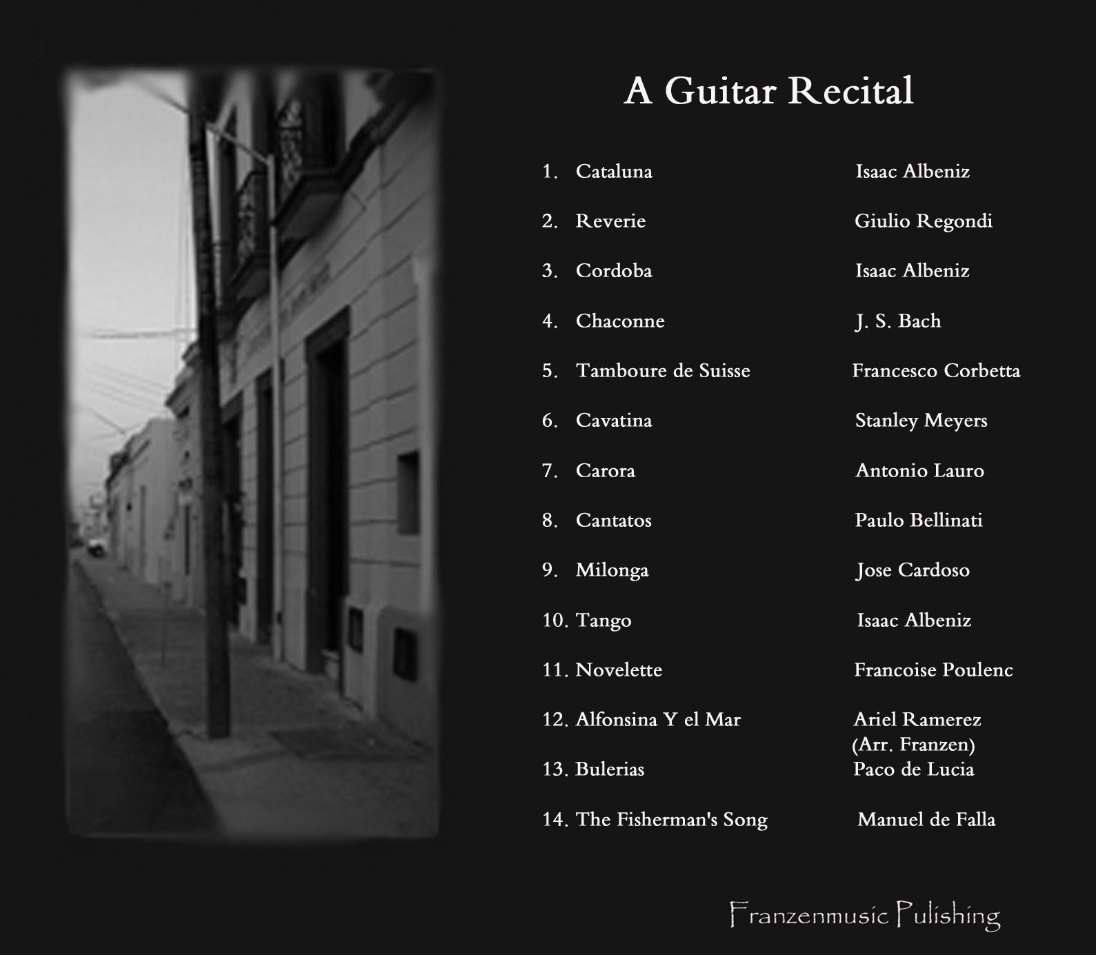 A Guitar Recital