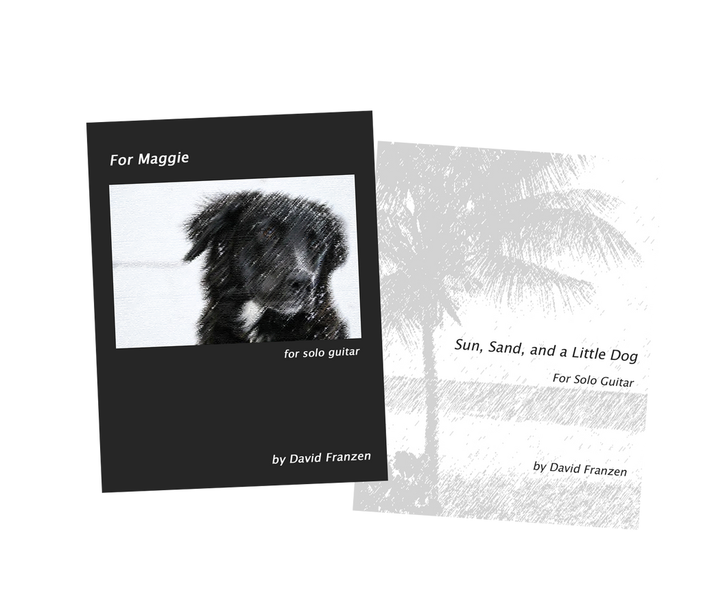 Dog Lover's PDF Sheet Music Package