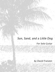 Sun, Sand, and A Little Dog by David Franzen- Solo Guitar