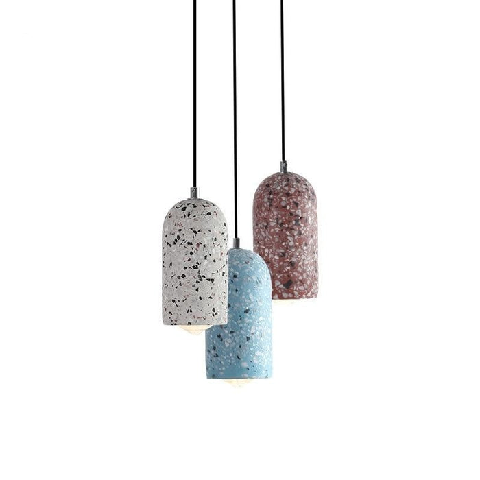 Industrial Cement Hanging Lamp - Best Goodie Shop