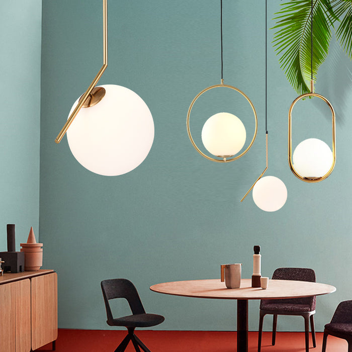 Nordic Ceiling Glass Ball Lamp - Best Goodie Shop