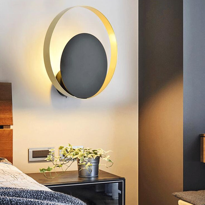 Circle Wall Lamp - Best Goodie Shop