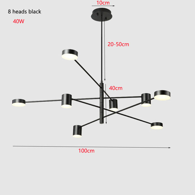 Modern LED Suspension Luminaire - Best Goodie Shop