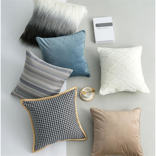 Modern Sofa Throw Pillow Case