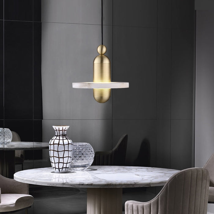 LED Marble Pendant Lamp