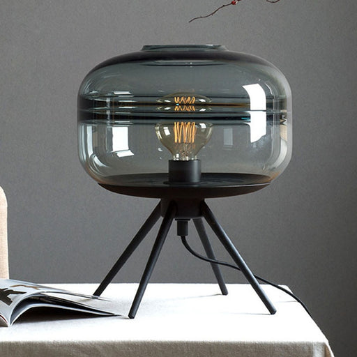 Modern American Glass Table Lamp - Best Goodie Shop