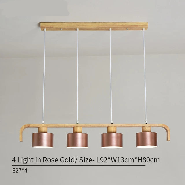 Wooden Nordic Hanging Lamp - Best Goodie Shop