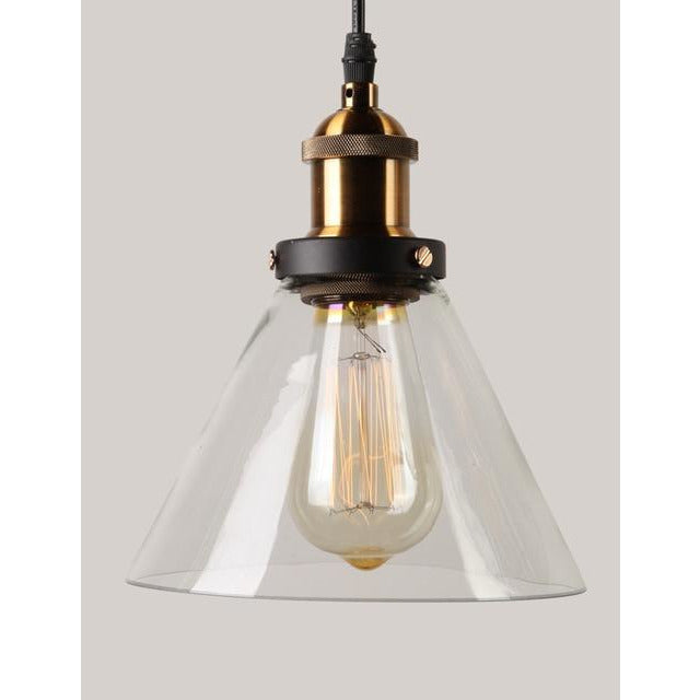 Vintage Pendant Light Glass - Best Goodie Shop