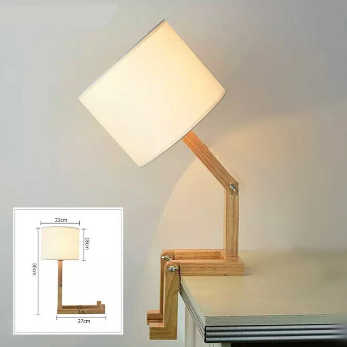 Wooden Flexible Reading Lamp - Best Goodie Shop