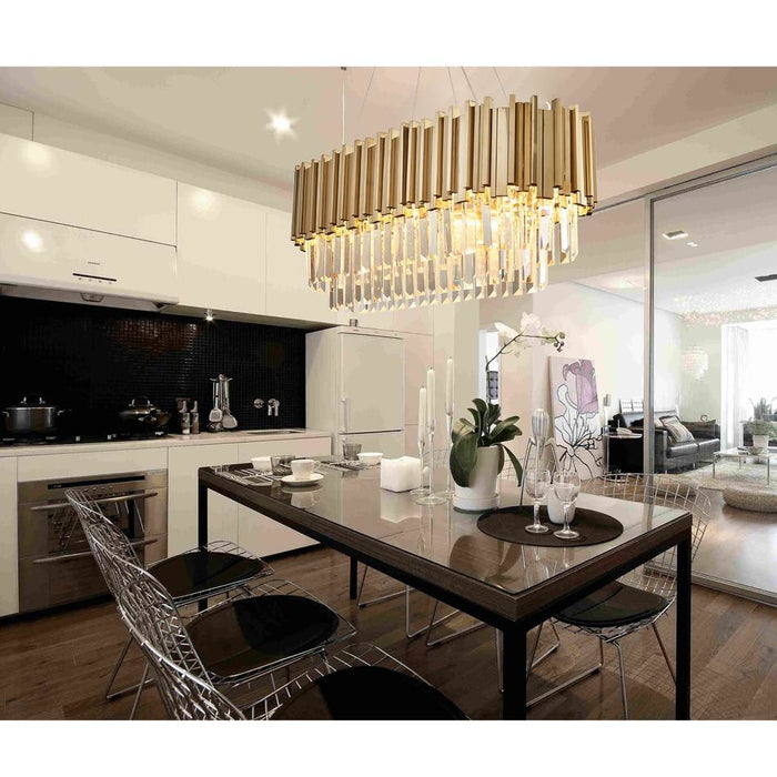 Oval Luxury Chandelier - Best Goodie Shop