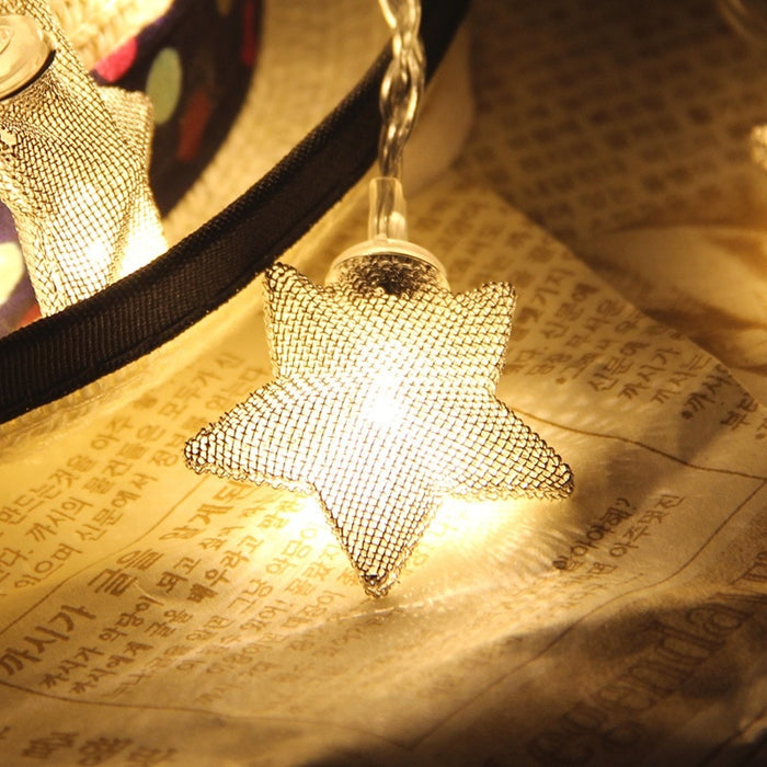 Stars Shaped Fairy Light Strings - Best Goodie Shop