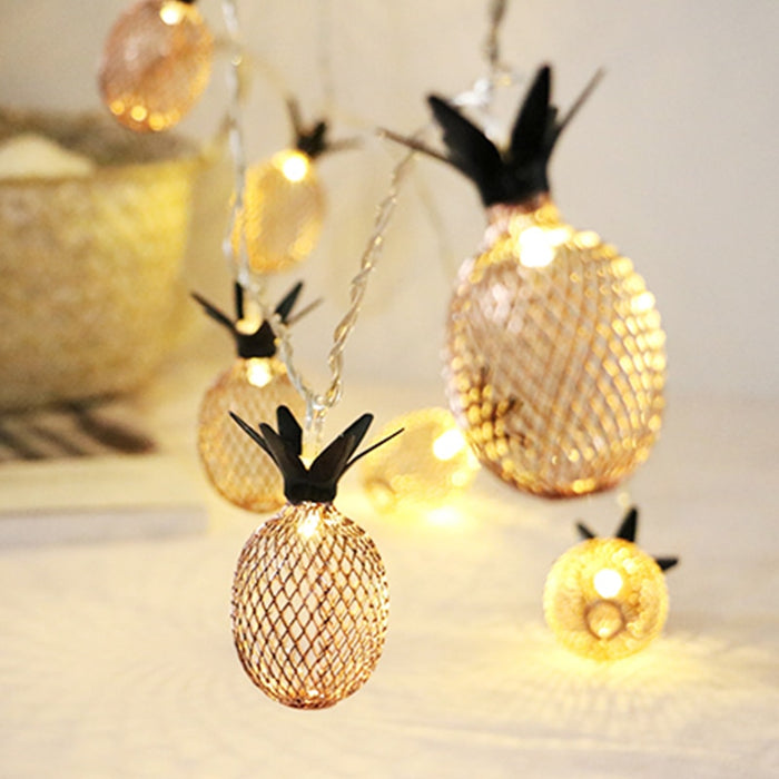 Pineapple Led String Lights - Best Goodie Shop
