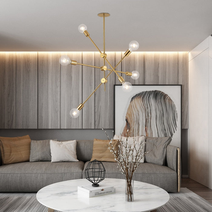 Modern Sputnik Chandelier - Best Goodie Shop