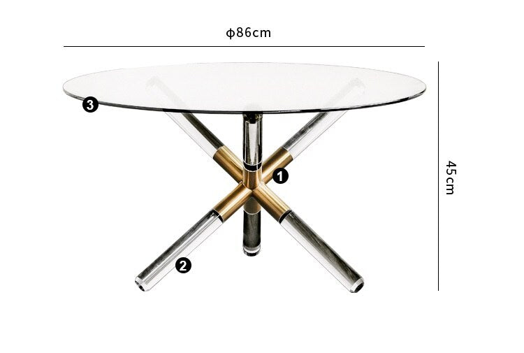 CLEARA Glass Table