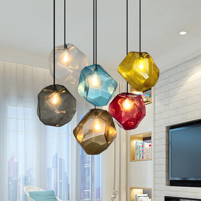 Colorful Stone Lamp - Best Goodie Shop
