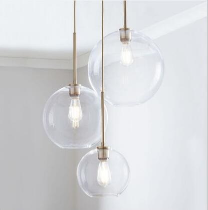 Silver Gold Glass Ball Hanging Lamp - Best Goodie Shop