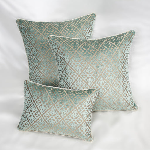 Flocking Velour Pillow Cover