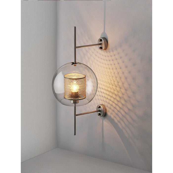 Modern Clear Glass Shade Scones Wall Lamps - Best Goodie Shop
