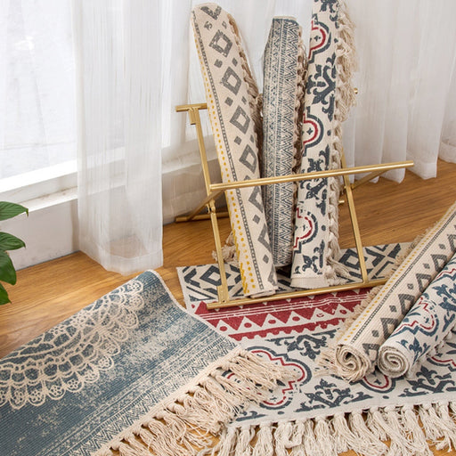Bohemian Hand Woven Rug - Best Goodie Shop