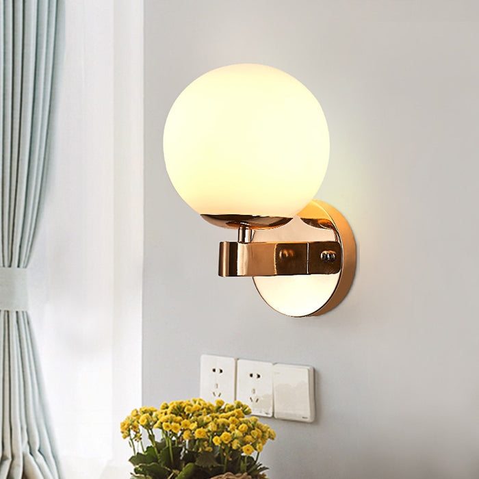 Milky Nova Wall Lamp - Best Goodie Shop