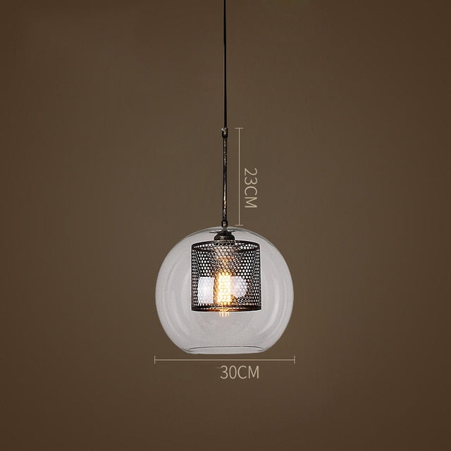 MILANA Glass Pendant Lamps