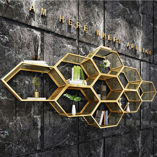 Creative Golden Built-up Diy Wall - Best Goodie Shop