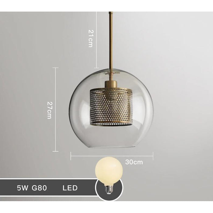 Nordic Glass Pendant Hanging Lamp - Best Goodie Shop