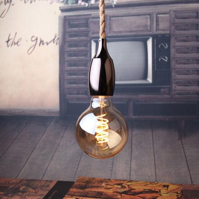 Nordic Hemp Rope Pendant Light Lamp - Best Goodie Shop