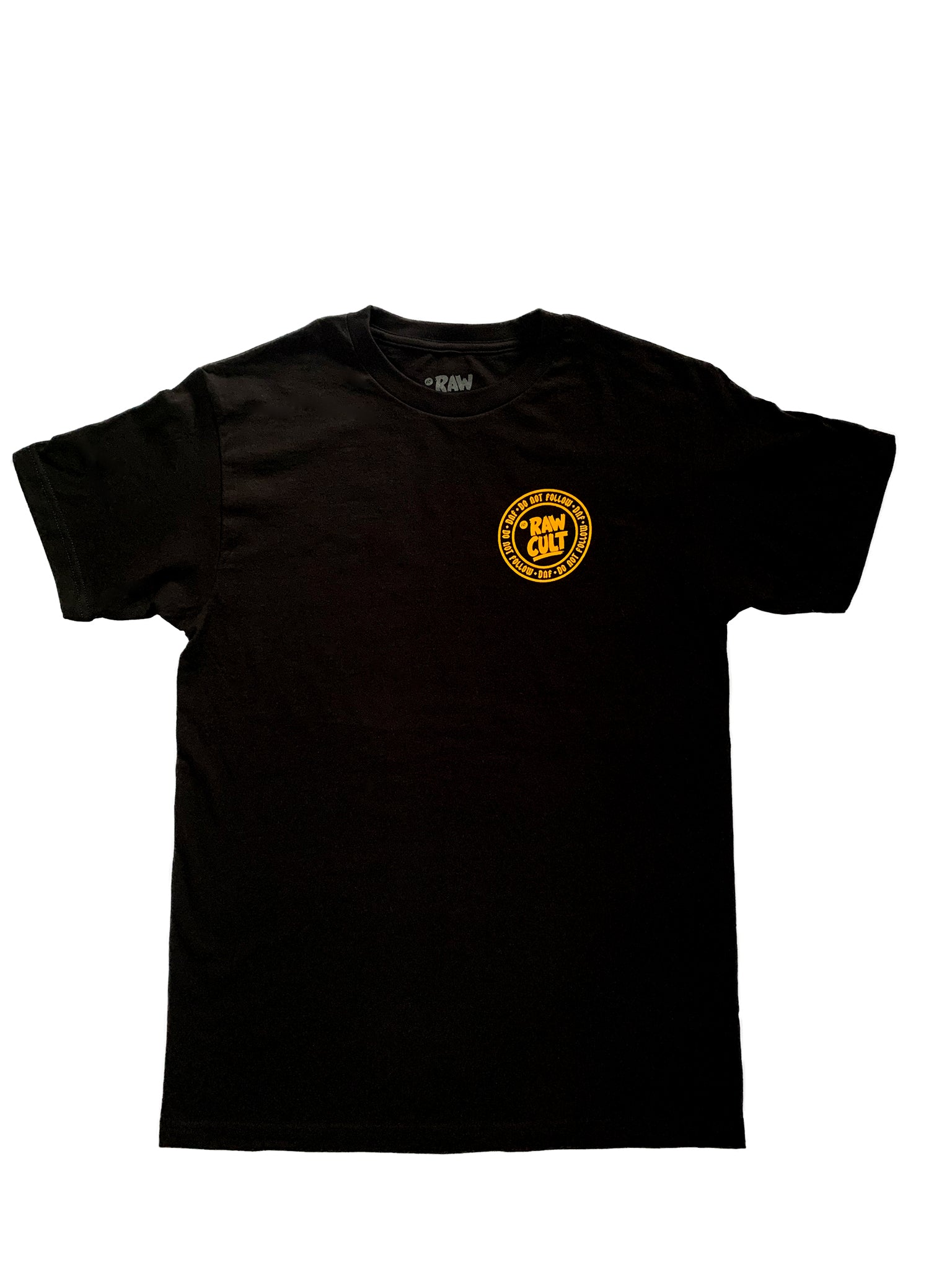 RAW CULT | Do Not Follow/DNF Logo T-Shirt (Black)