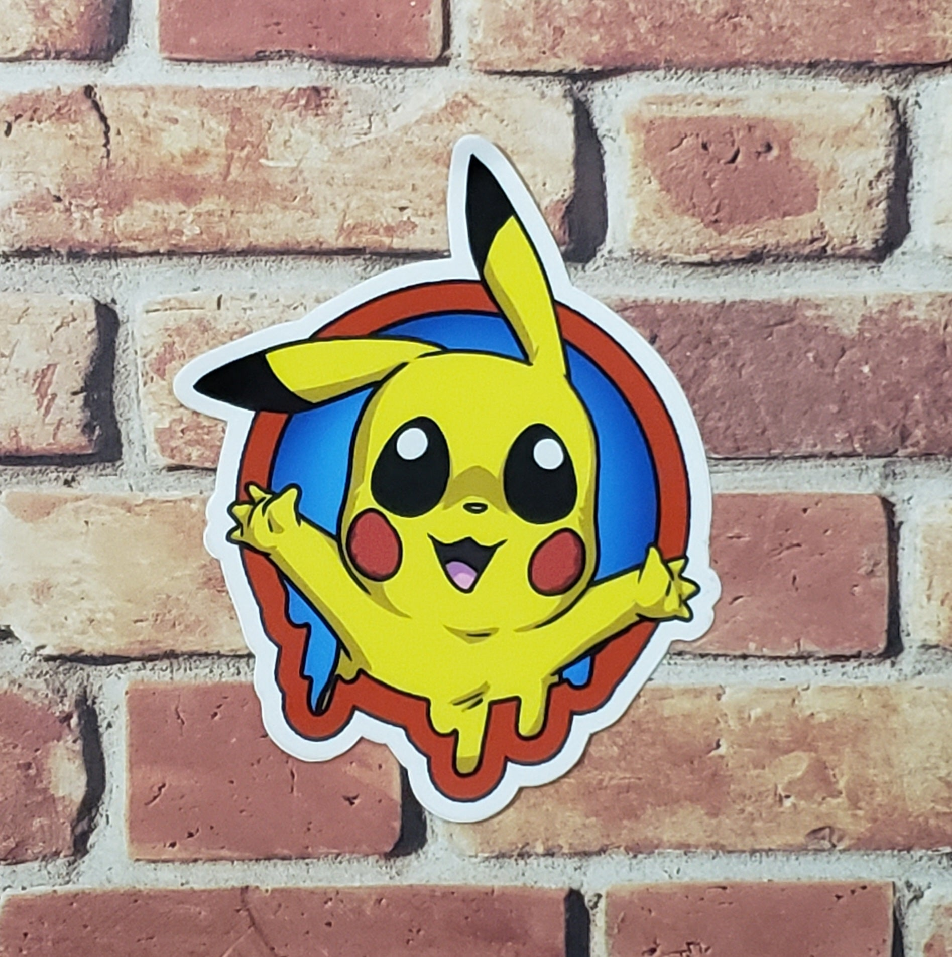 "LIMITED EDITION 3"" Pikachu- Sticker"
