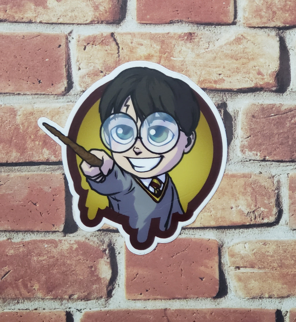 "LIMITED EDITION 3"" Harry Potter- Sticker"