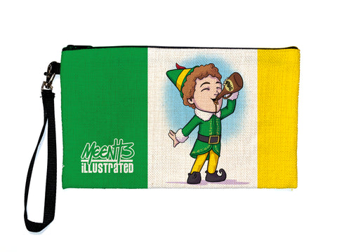 Buddy The Elf - Meents Illustrated Authentic Large Pencil/Device Bag
