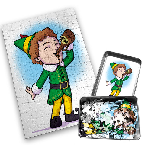 Buddy The Elf - 120 Piece Jigsaw Puzzle