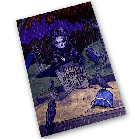CROW - 120 Piece Jigsaw Puzzle