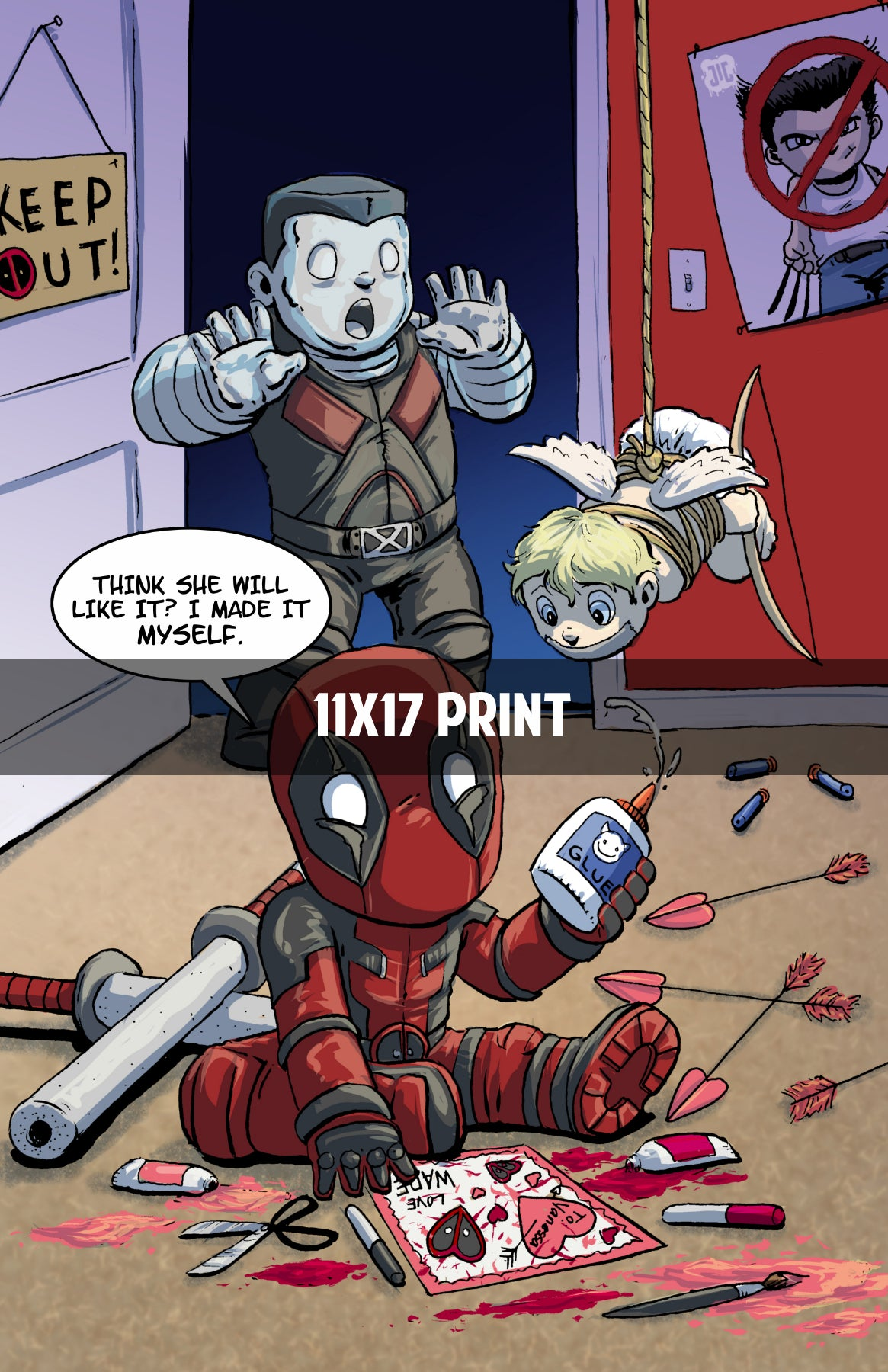 Deadpool Movie - 11x17 Print