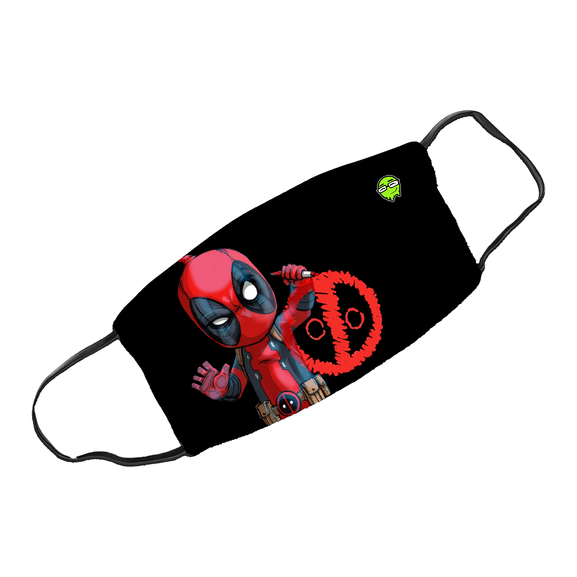 Deadpool - Silky Smooth Face Mask (Non Medical)