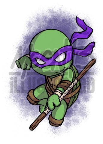 Donatello - 5x7 Mini Print
