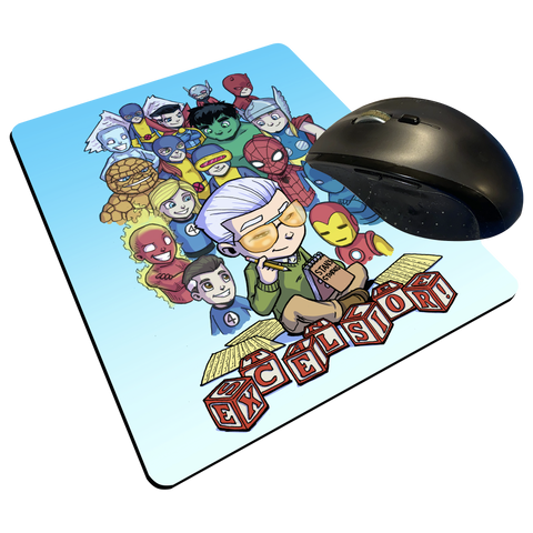 "Excelsior - Custom Graphic ""Thin"" Mouse Pad"