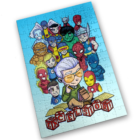 Excelsior - 120 Piece Jigsaw Puzzle