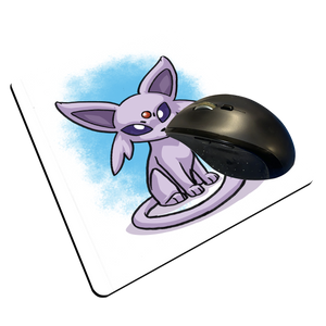 "Espeon - Custom ""Thin"" Mouse Pad"