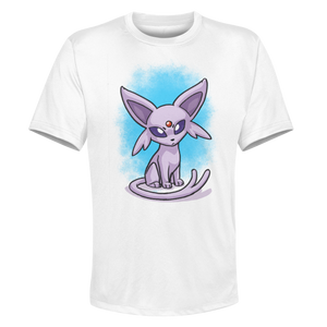 Espeon - White Performance Graphic Tee