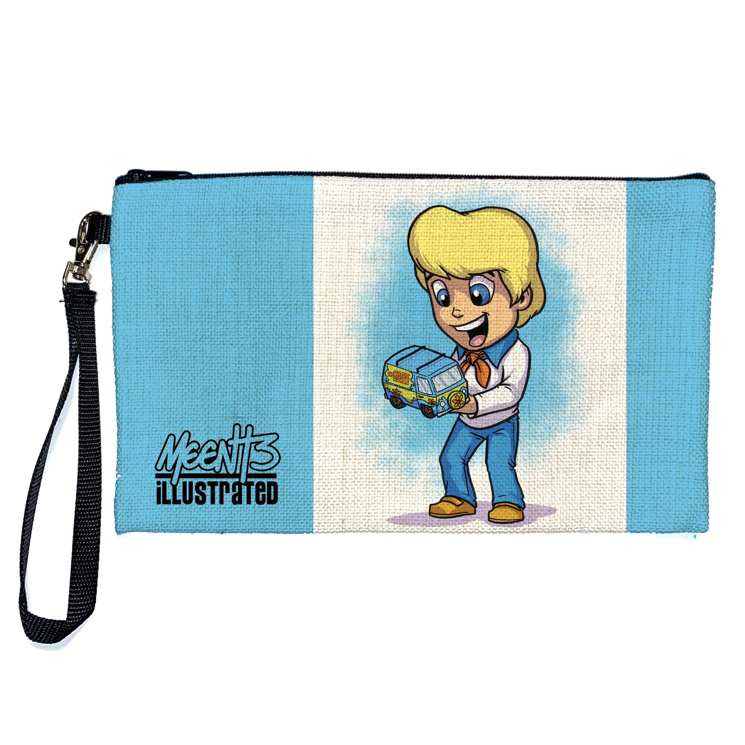 Fred - Character - Large Pencil/Device Bag