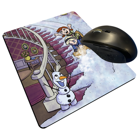 "Frozen - Custom Graphic ""Thin"" Mouse Pad"