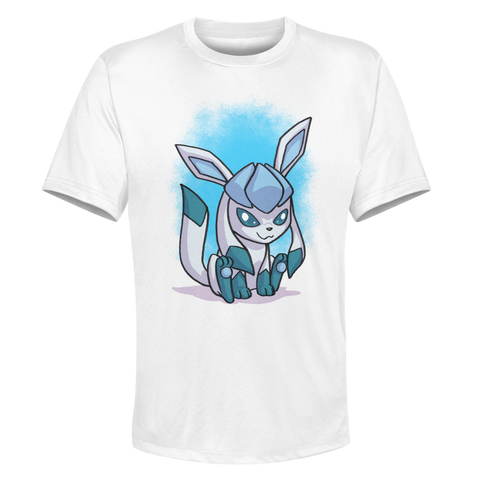 Glaceon - White Performance Graphic Tee