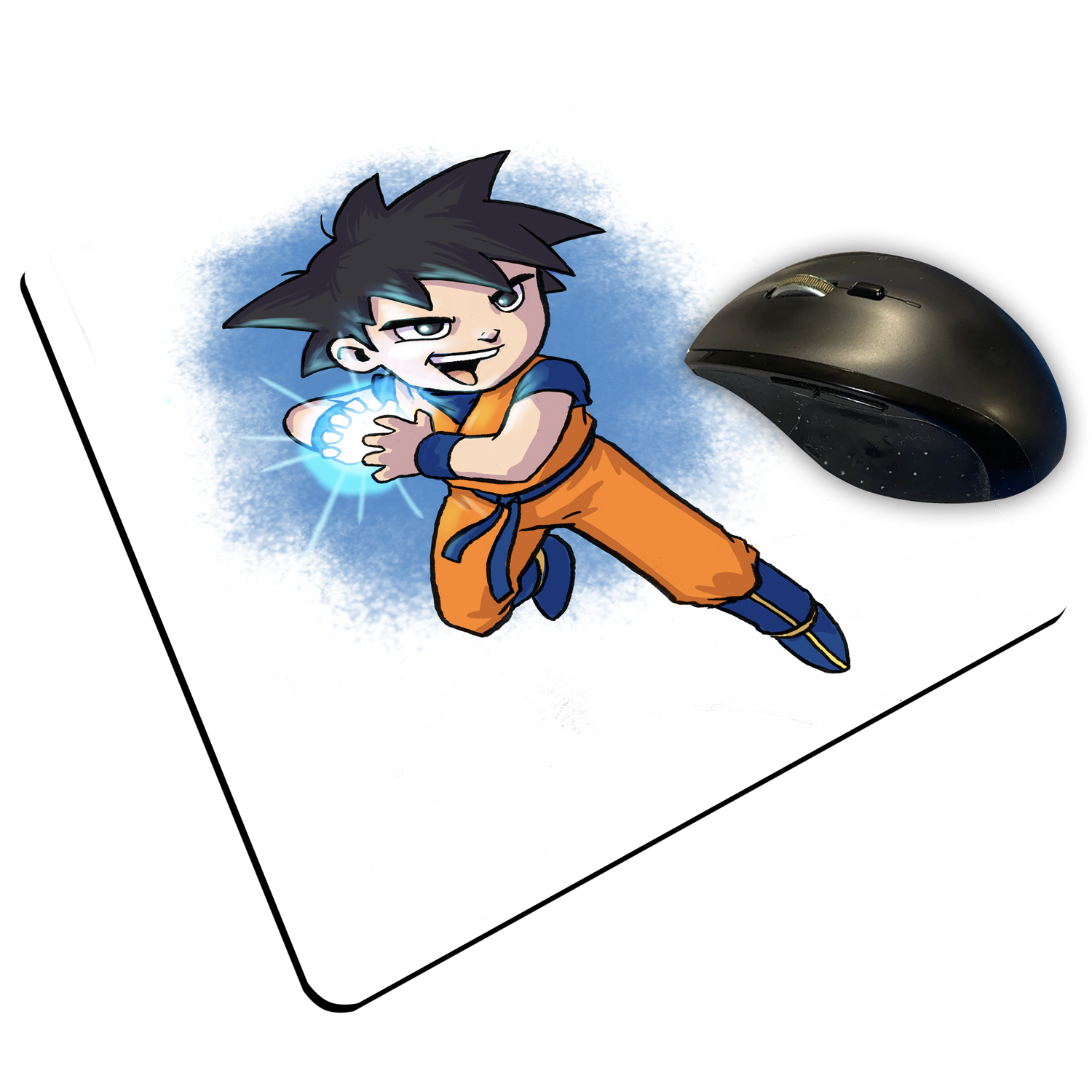 "Goku - Custom ""Thin"" Mouse Pad"