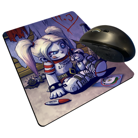 "Harley Markers - Custom Graphic ""Thin"" Mouse Pad"