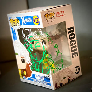 Set of Gambit & Rogue Funko Pop Mark-Ups