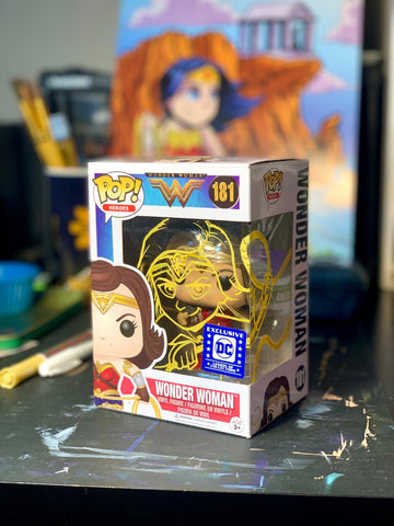 Wonder Woman Funko Pop Mark-Up
